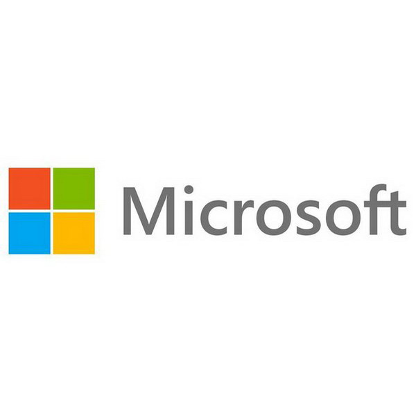 Microsoft Logo on Celebration Icon