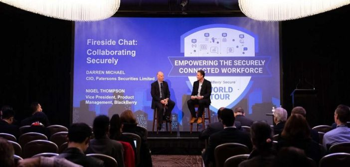 Securing your digital transformation : Financial Services Case Study using BlackBerry Workspaces
