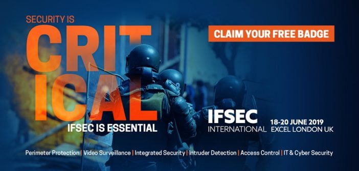 Join the global security industry at IFSEC International 2019